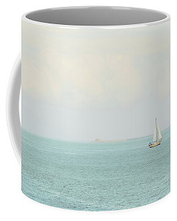 Sailing The Ocean Blue Coffee Mug