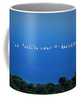Sailing The Sea And Sky Coffee Mug