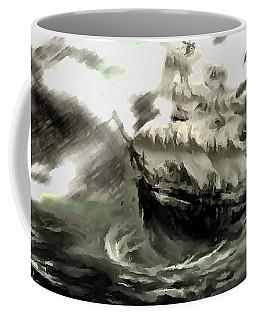 Sailing The Stormy Seas Coffee Mug