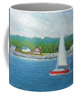 Sailing To New Harbor Coffee Mug