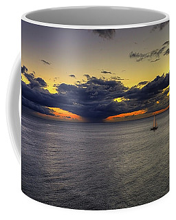 Sailing To Sunset Coffee Mug