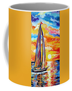 Sailing Towards My Dreams Coffee Mug