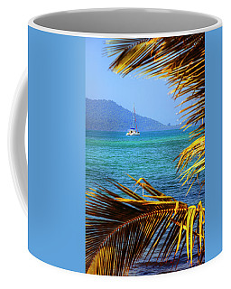 Coffee Mug featuring the photograph Sailing Vacation by Alexey Stiop