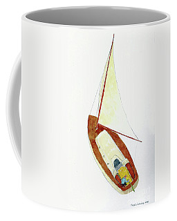 Sailing Watercolor Coffee Mug