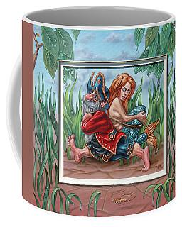 Sailor And Mermaid Coffee Mug