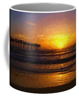 Saint Augustine Beach Sunrise Coffee Mug