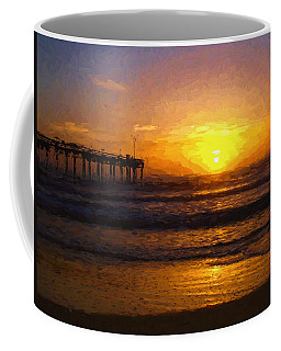 Saint Augustine Beach Sunrise Coffee Mug