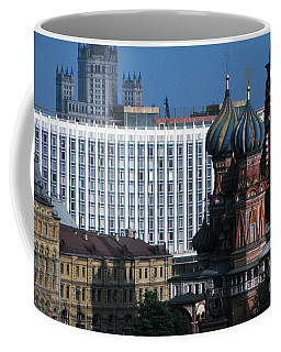 Saint Basils Cathedral In Moscow 1967 Coffee Mug