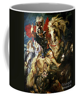 Saint George And The Dragon Coffee Mug