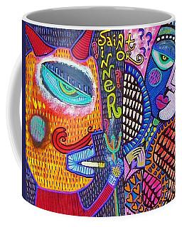 -sold- Saint Heart Or Sinner  Coffee Mug