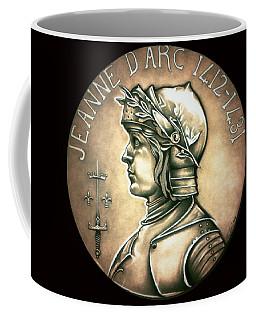 Saint Joan Of Arc Coffee Mug by Fred Larucci