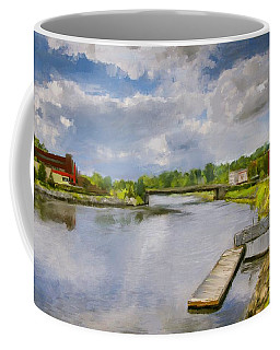 Saint John River Painting Coffee Mug