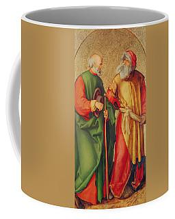 Saint Joseph And Saint Joachim Coffee Mug