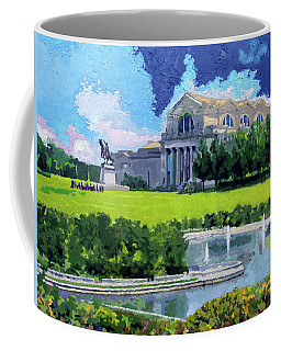 Saint Louis City Art Museum Coffee Mug