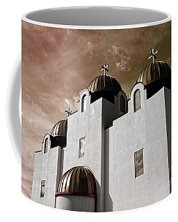 Saint Louis Coptic Orthodox  Coffee Mug by Luther Fine Art