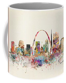 Saint Louis Missouri Skyline Coffee Mug