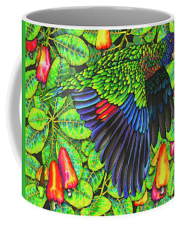 Saint Lucia Amazona Versicolor Parrot Coffee Mug