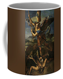 Saint Michael Defeats Satan Coffee Mug