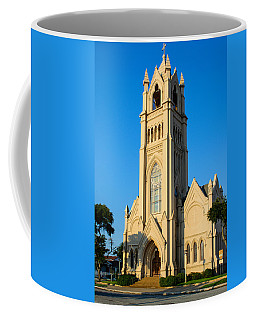 Saint Patrick Catholic Church Of Galveston Coffee Mug