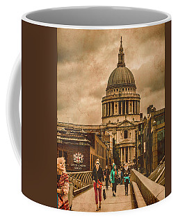 London, England - Saint Paul's In The City Coffee Mug