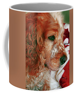 Saint Shaggy Art Photograph  14 Coffee Mug