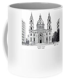 Saint Stephens Basilica Coffee Mug by Frederic Kohli