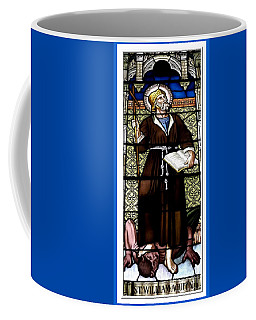 Saint William Of Aquitaine Stained Glass Window Coffee Mug