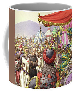 Saladin Orders The Execution Of Knights Templars And Hospitallers  Coffee Mug
