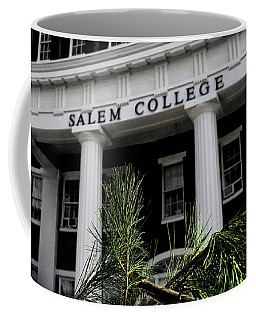 Coffee Mug featuring the photograph Salem College by Jessica Brawley