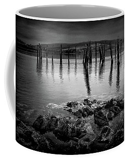 Salen Pier, Isle Of Mull Coffee Mug