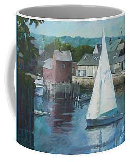 Saling In Rockport Ma Coffee Mug
