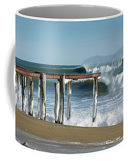 Coffee Mug featuring the photograph Salisbury Winter Storm by Betty Denise