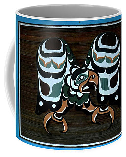 Coffee Mug featuring the photograph Salish Painting by 'REA' Gallery