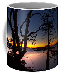 Salish Sunrise Coffee Mug by Randy Hall