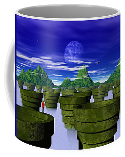 Sally's Perilous Quest Across The Chasm Coffee Mug