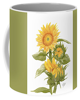 Sally's Sunflowers Coffee Mug