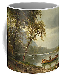 Salmon Fishing On The Caspapediac River Coffee Mug