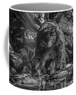 Salmon Seeker Black Bear  Coffee Mug