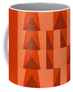 Salmon With Red And Brown Coffee Mug by Michelle Calkins