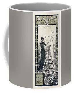 Salon De La Rose Croix - Vintage French Exposition Poster By Carlos Schwabe Coffee Mug