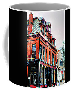 Coffee Mug featuring the photograph Saloon Bristol Ri by Tom Prendergast