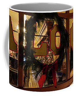 Saloon Wreath Coffee Mug