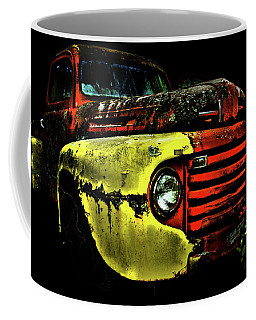 Coffee Mug featuring the photograph Salsa Chevy by Glenda Wright