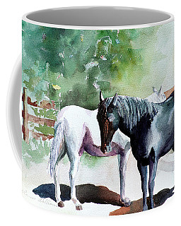 Salt And Pepper Horses Coffee Mug