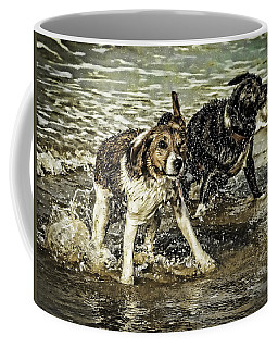Coffee Mug featuring the photograph Salt And Shake by Nick Bywater