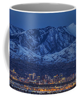 Coffee Mug featuring the photograph Salt Lake City by Spencer Baugh