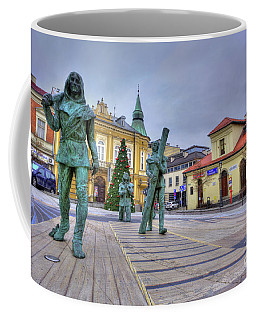 Salt Miners Of Wieliczka, Poland Coffee Mug