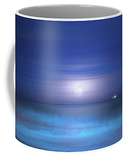 Coffee Mug featuring the photograph Salt Moon by Mark Andrew Thomas