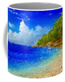 Salt Water Beach Coffee Mug