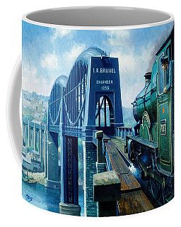 Saltash Bridge. Coffee Mug